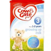 Cow&Gate 牛栏婴幼儿奶粉3段 900g¥86.00