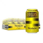 Würenbacher 瓦伦丁 荷拉斯 啤酒 330ml*24听 整箱装68元