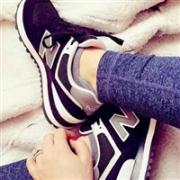 New Balance 新百伦 W574 女士休闲鞋凑单折后$29.99,转运到手约¥270