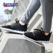 Sprandi 斯潘迪 男士网面透气跑步鞋 3色¥129