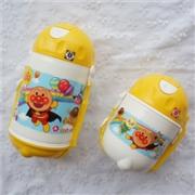 LEC面包超人水壶 儿童宝宝吸管杯 480ml 矮款特价859日元(约¥50元),高款见正文