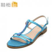 SHOEBOX/鞋柜 平底凉鞋¥14.90 0.5折
