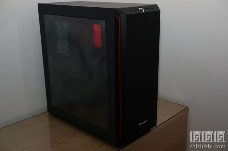 Antec 安钛克 P7 Window Red 中塔机箱开箱