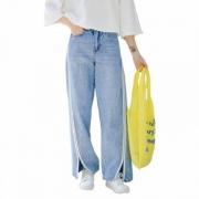 LRUD 女士新款韩版高腰阔腿裤