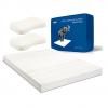 TAIPATEX   天然泰国乳胶床垫 7.5*180*200cm + 乳胶枕 一对¥2999