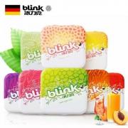 blink 德国进口 无糖果粉薄荷糖 8盒