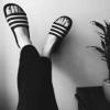 adidas 阿迪达斯 Duramo Slides 大童款拖鞋$11.99(折¥80.33)