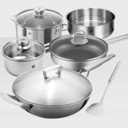 Zwilling 双立人 TWIN Gourmet系列 不锈钢炊具组合 6件套 1298元包邮(双重优惠)