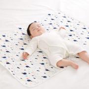 PurCotton 全棉时代 婴幼儿纱布隔尿垫 90*70cm  折32.4元/件¥32.40 3.0折