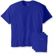 限尺码!Hanes Ecosmart 男士圆领T恤 4件装
