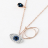 Swarovski 施华洛世奇 女士恶魔之眼项链眼睛链坠¥350.00 3.5折