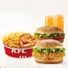 KFC肯德基 wow双堡套餐 单次电子兑换券69元