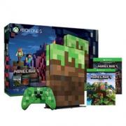 限地区:Microsoft 微软 Xbox One S 1TB 游戏机 《我的世界》限量版主机
