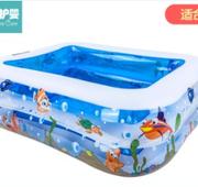 痛快玩水!more care 倍护婴 儿童游泳池充气 19元包邮¥18.00 1.3折 比上一次爆料降低 ¥1