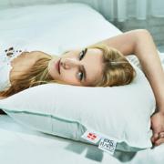 PLUS会员! FOSSFLAKES 全棉舒适 优质中高枕 219元包邮(双重优惠)