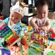 木意天使 儿童绕珠益智玩具三件套