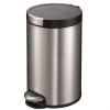 EKO 脚踏开盖式 超静音 欧式不锈钢垃圾桶 5L78元包邮同款京东108元