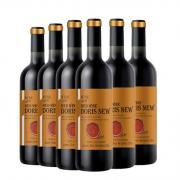Doris New 新多乐丝 干红葡萄酒750ml*6支整箱装 送开瓶器 西班牙进口