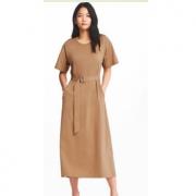 优衣库 女装T恤式连衣裙149元(多色可选)