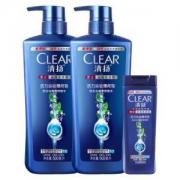 CLEAR 清扬 活力运动薄荷型 男士去屑洗发水 1.1L67.9元,送飞利浦S101剃须刀