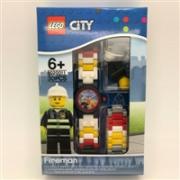 LEGO 乐高 City城市系列 8020011 儿童手表 赠消防员人仔