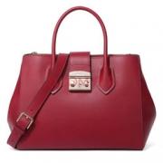 FURLA芙拉  METROPOLIS 女士系列酒红色牛皮手提包单肩包 920453 B BML2 VFO CGLIQIAD¥1375.00 4.0折