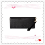 COACH 蔻驰 Pebbled Leather Slim Wallet 女士钱包$52.99(到手约380元)