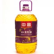中昌 物理压榨 清香菜籽油 5L¥43.00 5.4折