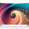 18日0点: KONKA 康佳 LEDUC3系列 55英寸 4K曲面液晶电视 2299元包邮 (限前1小时200件)¥2299.00