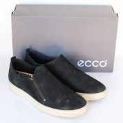 Ecco 爱步 Fara 女士磨砂皮拉链休闲鞋 $57.49