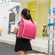 Coulomb新款小学生书包 大容量 附送透明防雨套 女生款 三色选