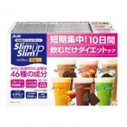 Asahi朝日Slim up Slim饱腹代餐纤体奶昔含胶原蛋白10袋装