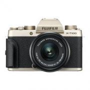 FUJIFILM 富士 X-T100(15-45mm f/3.5-5.6) 无反相机套机 香槟金4590元包邮(满减)