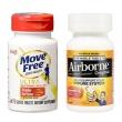 MoveFree氨糖软骨素白瓶 60粒+Airborne 维生素咀嚼片 32粒¥150
