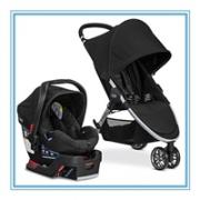 Britax 宝得适 B-Agile&B-Safe 35 2017新款婴幼儿推车+汽车安全座椅套装