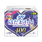SOFY 苏菲 温柔肌特别量多夜用卫生巾 400mm*8片 *3件