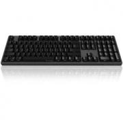 AKKO Ducky Zero 3108 PBT 机械键盘 108键 cherry 樱桃轴 青轴 黑色