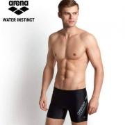 Prime Day,Arena 阿瑞娜 男士专业基础训练健身平角泳裤 TSS8153M 多款
