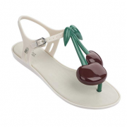麦丽莎(Melissa)  Solar IV Ad女士樱桃夹趾平底凉鞋¥250
