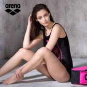 Prime Day,Arena 阿瑞娜 女士专业运动连体竞速泳衣 TSS8121W 多色