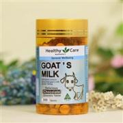 Healthy Care 山羊奶儿童钙片300粒(香草味)
