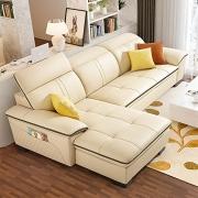 顾家家居(KUKA)   8086 真皮沙发 单人位+三人位+贵妃榻¥7749