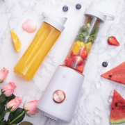 SKG  便携式全自动多功能榨汁机 送果汁杯 自制冰沙蔬果汁