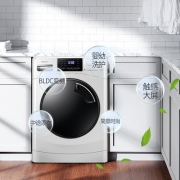 容声(Ronshen)   RG100D1222ABW 10公斤 滚筒洗衣机