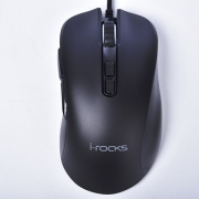 i-Rocks 艾芮克 M35 RGB 光磁微动游戏鼠标开箱测试