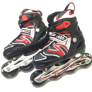 JOEREX 祖迪斯 JRO0803 闪光可调伸缩直排轮旱冰鞋