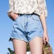 清凉时尚,8款女士牛仔短裤推荐
