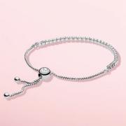 潘多拉 女士925银闪耀手链(590524CZ/590524PCZ)