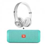 Beats Solo3 Wireless头戴式无线蓝牙运动耳机+JBL Flip4便携式蓝牙音箱