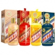 500ml*4瓶组合,茅台 生肖组合(马羊猴鸡) 酱香型白酒 53度50980元(长期53680元)